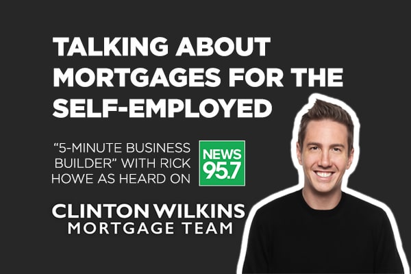Rick Howe: Mortgages For The Self-Employed