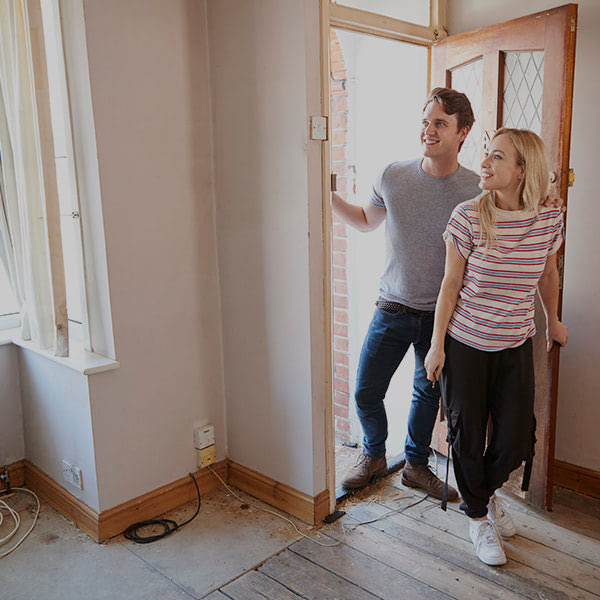 First Time Home Buyers Young Couple