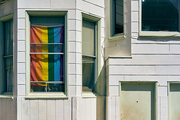 Owning A Home Pride Flag
