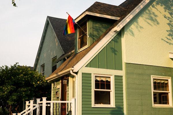 Halifax Pride Flag Home